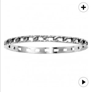 Brighton Neptune's Ring Chain Bangle Bracelet